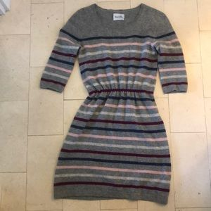 Steven Alan Striped Cashmere Dress